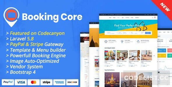 Booking Core v1.7.0 – Ultimate Booking System Nulled free
