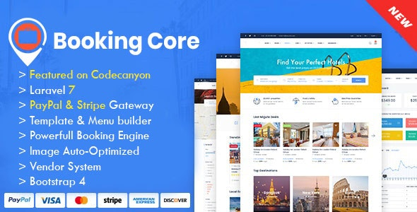 Booking Core v1.9.3 – Ultimate Booking System Nulled free